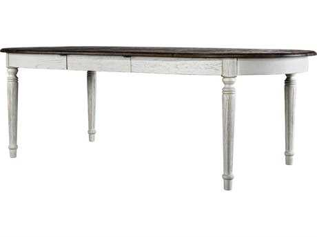 Curations Limited Maison Weathered Natural / Vintage White Oak 72'' Table CLD8831220272