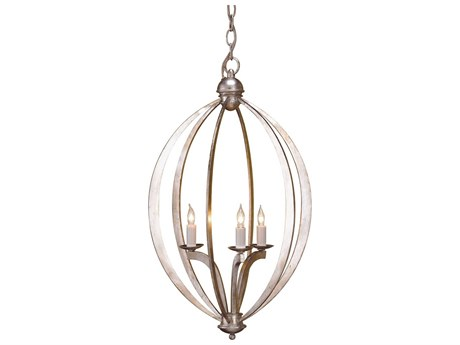 Currey & Company Bella Luna Three-Light 16'' Wide Mini-Chandelier CY9482