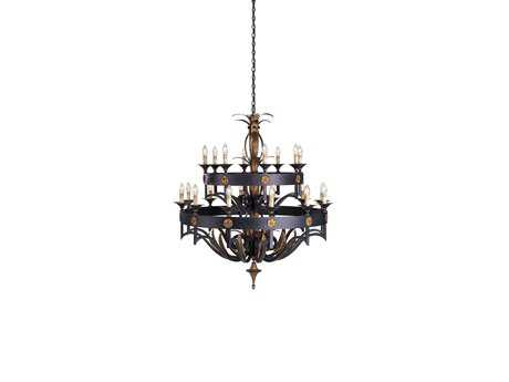 Currey & Company Camelot Zanzibar 20-Light 50'' Wide Grand Chandelier CY9837