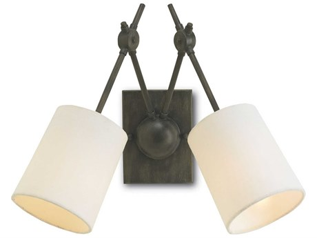Currey & Company Compass Two Light Wall Sconce CY5150