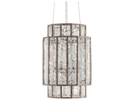 Currey & Company Fantasia Pyrite Bronze 4-Light Mini-Chandelier