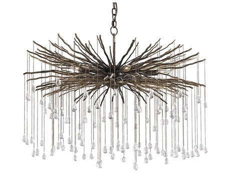 Currey & Company Fen Cupertino Six-Light 38'' Wide Grand Chandelier CY9451