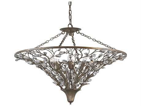 Currey & Company Giselle Cupertino Eight-Light 30'' Wide Chandelier CY9610