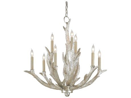 Currey & Company Haywood Nine-Light 28'' Wide Chandelier CY9410