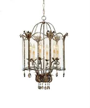 Currey & Company Zara Currey In A Hurry Six Light 20'' Wide Mini-Chandelier CY9388