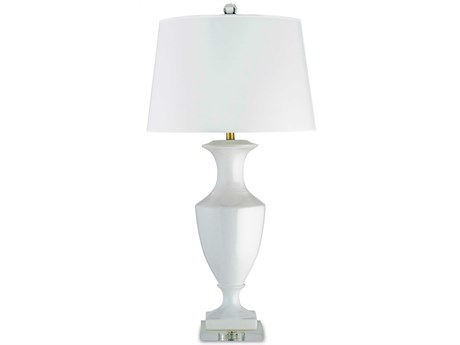 Currey & Company Currey In A Hurry White Timeless Table Lamp