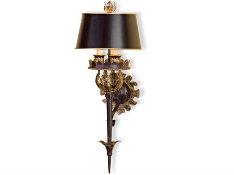 Currey & Company Currey In A Hurry Duke Three Light Wall Sconce CY5412