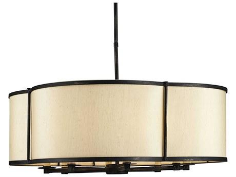Currey & Company Linley Eight Light Pendant Light CY9050