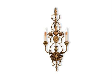 Currey & Company Belmonte Two Light Wall Sconce