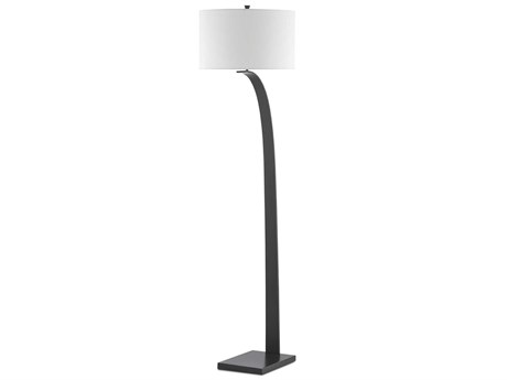 Currey & Company Masonic Painted Oil Rubbed Bronze 1-light Floor Lamp
