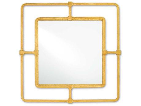 Uttermost Hemani 43 Round Antique Gold Wall Mirror Ut12742b