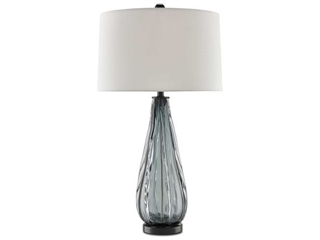 Currey & Company Nightcap Blue Table Lamp