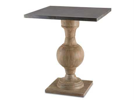Currey & Company 24'' Square Pinkney Foyer Table CY3164