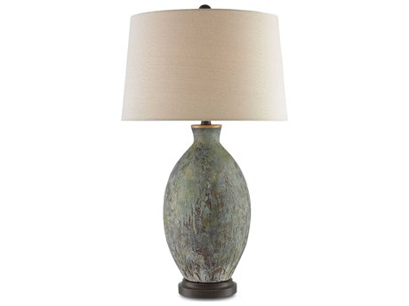 Currey & Company Remi Green Table Lamp CY60000050