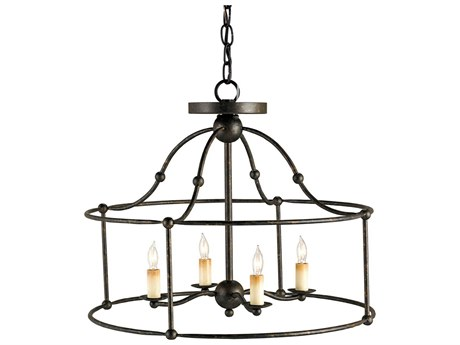 Currey & Company Fitzjames Four Light 20'' Wide Mini-Chandelier CY9878