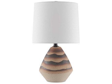 Currey & Company Earth / Brown Table Lamp