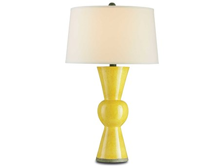 Currey & Company Yellow Upbeat Table Lamp CY6382