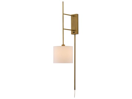 Currey & Company Antique Brass 1-light Wall Sconce