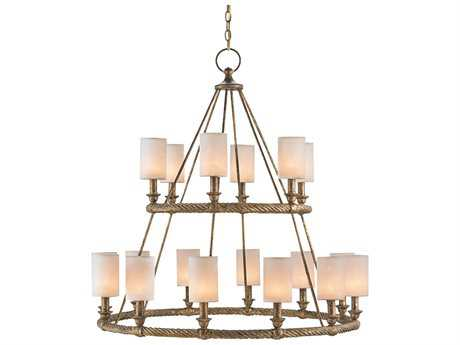 Currey & Company Westbourne Gold 18-Light 39'' Wide Grand Chandelier CY9844