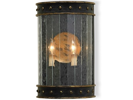 Currey & Company Wharton Two Light Wall Sconce CY5031