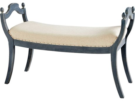 Cyan Design Aquarian Blue Accent Bench C309599