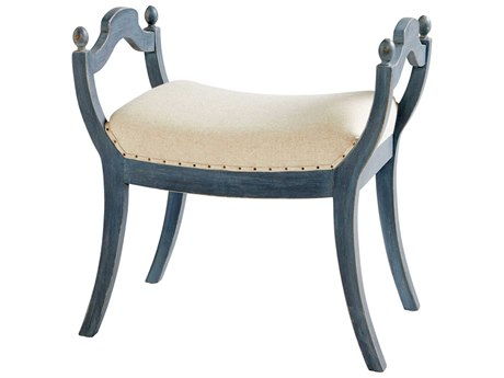 Cyan Design Aquarian Blue Accent Stool C309598