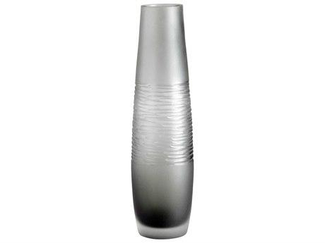 Cyan Design Grey Small Banded Smoke Vase C309199