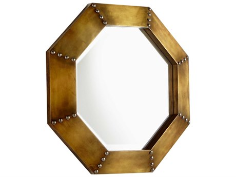 Cyan Design Gold 19'' Wide Octagon Wall Mirror
