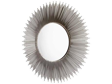 Cyan Design Aludra Zinc Antique 31'' Wide Round Sunburst Wall Mirror C308993