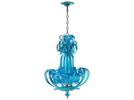 Cyan Design Aqua Florence Four-Light 22'' Wide Mini Chandelier C304622