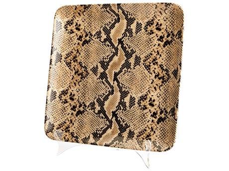 Cyan Design Boa Snake Skin Large Tray