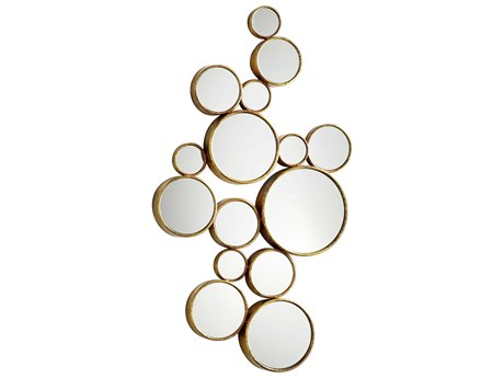 Cyan Design Bubbles 24 x 41 Gold Wall Mirror C305825