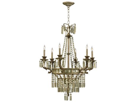 Cyan Design Buckngham St. Regis Bronze Six-Light 30 Wide Chandelier C36488633