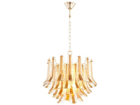 Cyan Design Camilla Gold Four-Light 21'' Wide Pendant Light C308532