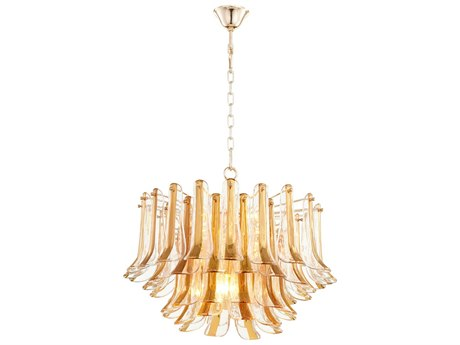 Cyan Design Camilla Gold Eight-Light 26.5'' Wide Pendant Light C308533