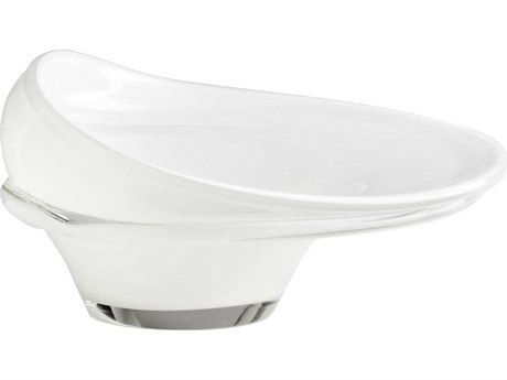 Cyan Design White Carlo Vase