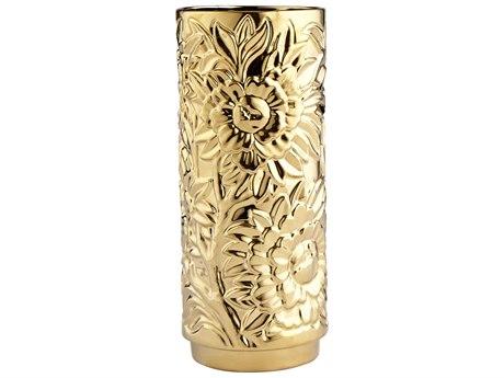 Cyan Design Carnation Gold Medium Vase C307428