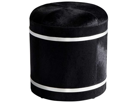 Cyan Design Casselton Black Accent Stool C308877