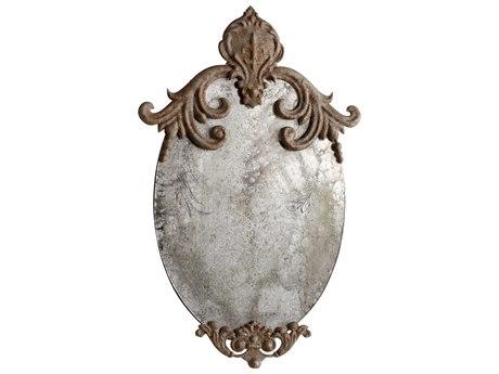Cyan Design Charlemagne 12 x 21 Rustic Wall Mirror C305955
