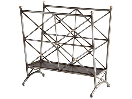 Cyan Design Cleveland Bronze And Gold Accents Magazine Rack C306188