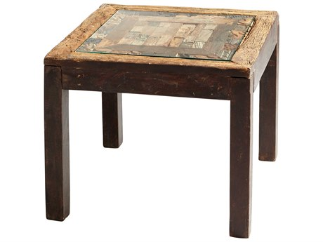 Cyan Design Collins Black Forest Grove 26'' Wide Square End Table C306963