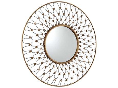 Cyan Design Cordova 36 x 36 Gold Wall Mirror C305611
