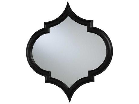 Cyan Design Large Corinth 23 x 26 Black Wall Mirror C301916