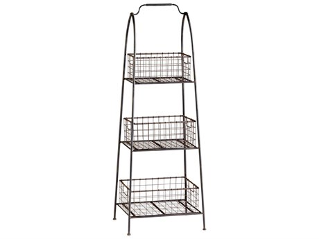 Cyan Design Essex Raw Steel Etagere Stand Rack C304725