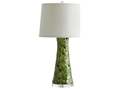 Cyan Design Eva Emerald Glaze Table Lamp C305894