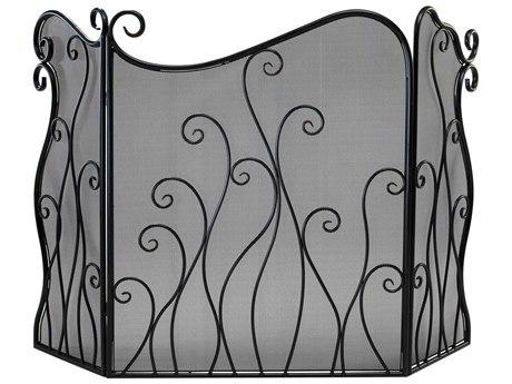 Cyan Design Evalie Bronze Fireplace Screen