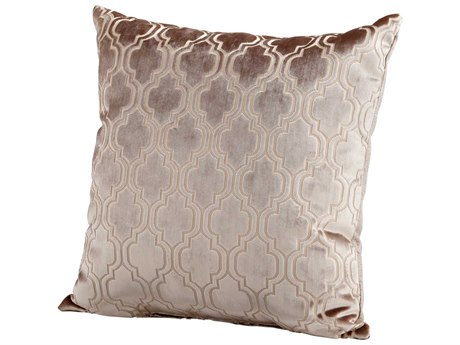 Cyan Design Taupe Flight Pattern Pillow C306508