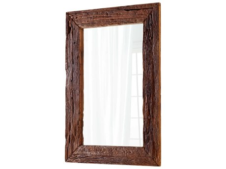 Cyan Design Folklore Walnut 42''W x 60''H Rectangular Floor Mirror C306966