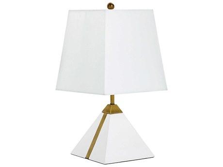 Cyan Design Giza White & Brass Table Lamp C307961
