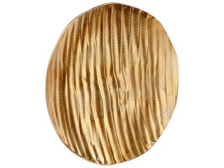 Cyan Design Heat Wave Gold Small Tray